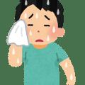 多汗症・汗っかきのイラスト