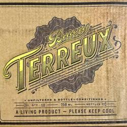 Great type find by @dfocht ??? Beautiful type! Now I need to look into their beers. #suckerforbeer #suckerfortype #brueryterreux