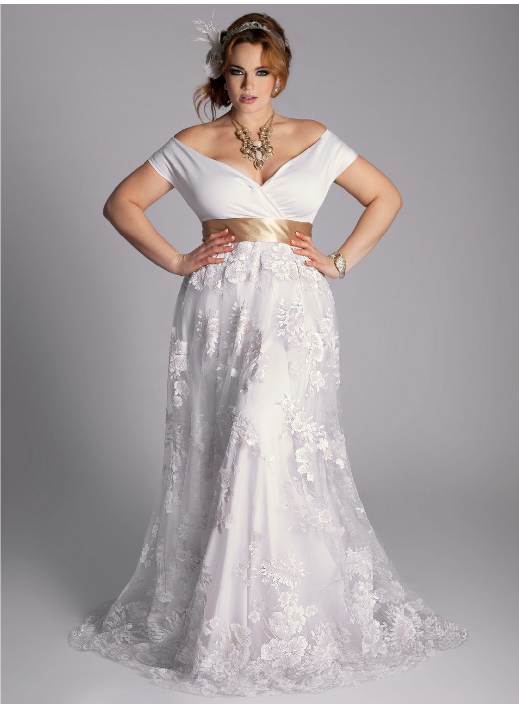 25 stunning plus size wedding dresses for every style of nuptial affair plus size wedding dresses 25 Stunning Plus Size Wedding Dresses For Every Style Of Nuptial Affair