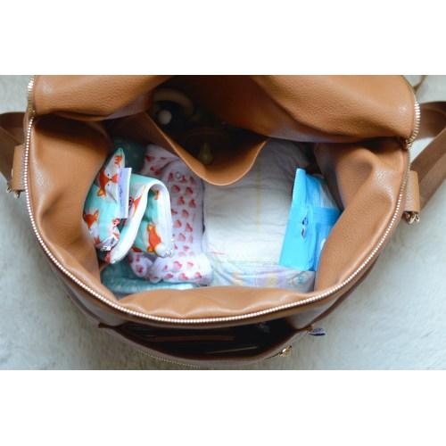 Medium Crop Of Fawn Diaper Bag