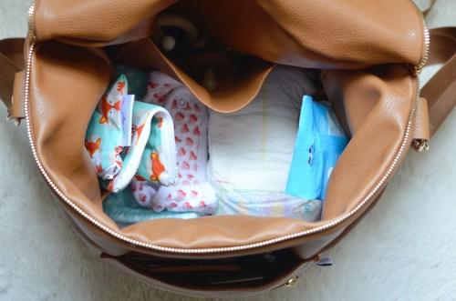 Medium Of Fawn Diaper Bag