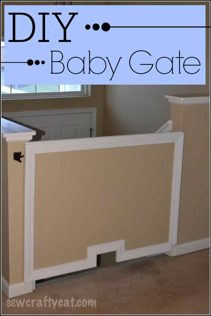 DIY Wood Baby Gate