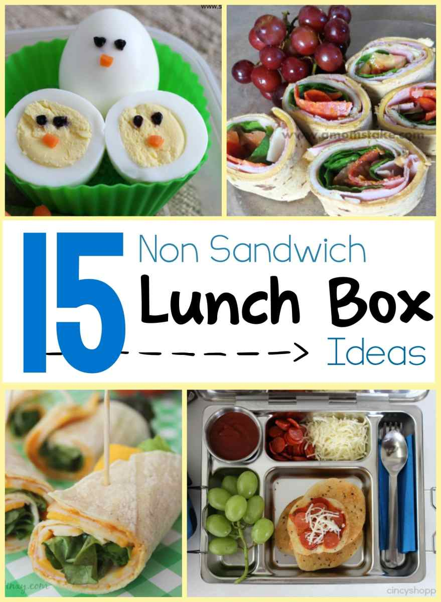 15 Non Sandwich Lunch Box Ideas