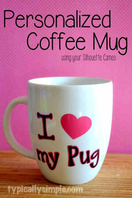 DIY Personalized Mug | Typically Simple
