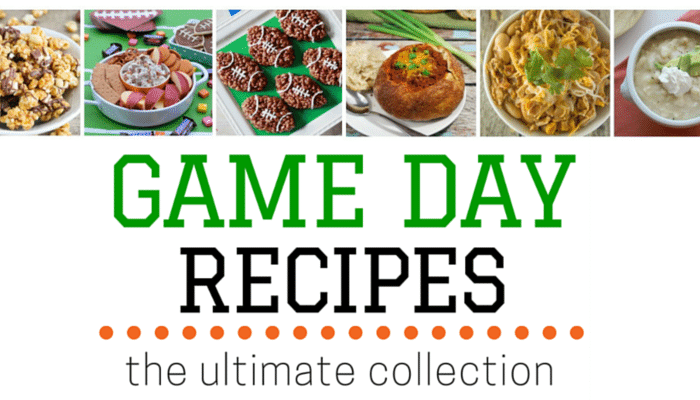 The Ultimate Collection of Game Day Recipes