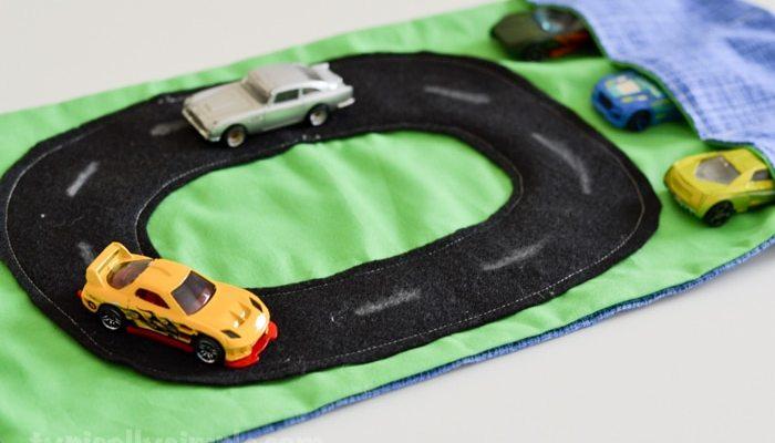 Travel Race Car Mat – Sewing Tutorial