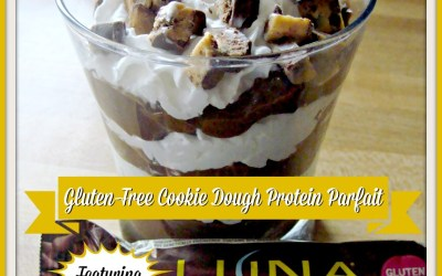{Recipe} Gluten-Free Cookie Dough Protein Parfait