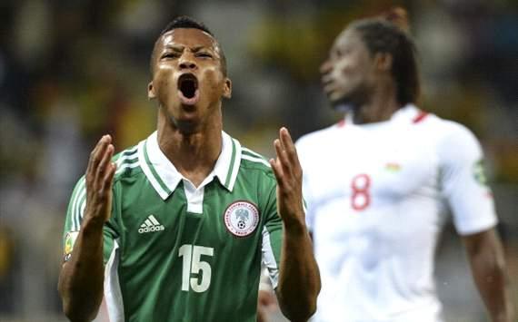 Afcon - Ikechukwu Uche - Nigeria vs Burkina Faso