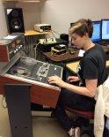 work desk of Morgan VanDeCarr at the MBD