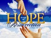 hope through ressurection