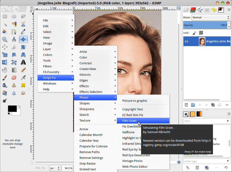 Download Download More Than 100 Script-FUs Pack For GIMP 2.8