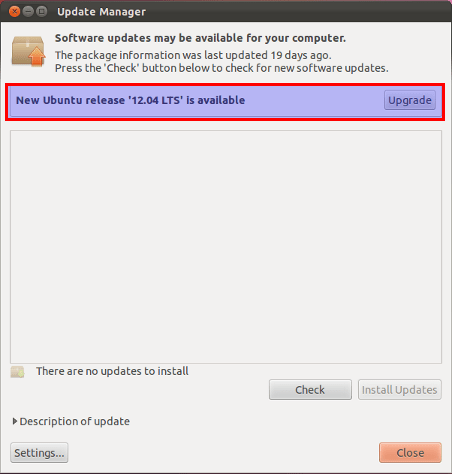 upgrade to ubuntu 12.04