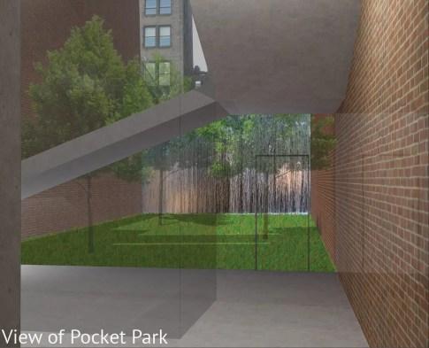 pocket park