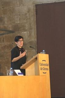Montse Castro, en la lliçó inaugural del curs 2017-2018