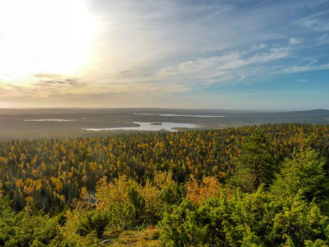 Unendliche Weite in Oulanka Nationalpark