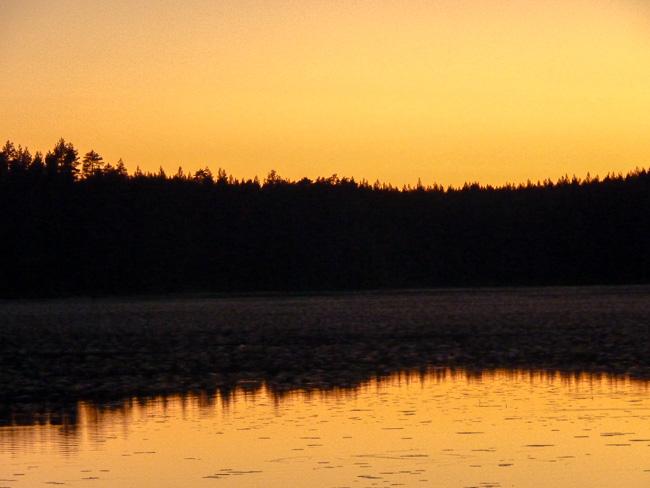 gelberSonnenuntergang-Karelien