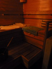 Sauna-Dezember