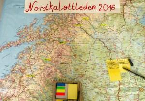 Karte Nordkalotte