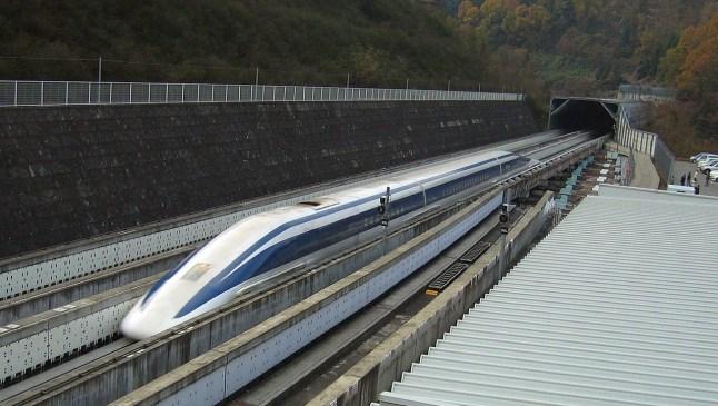 China y su primer tren de levitación magnética