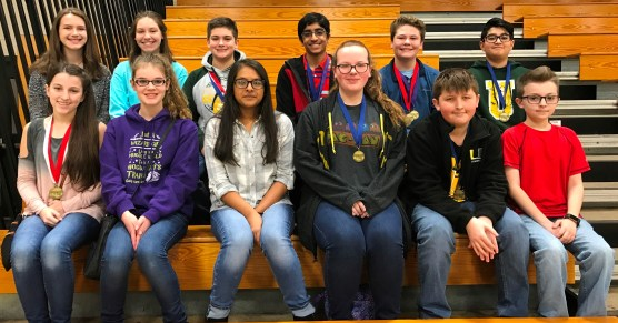 middle school academic team
