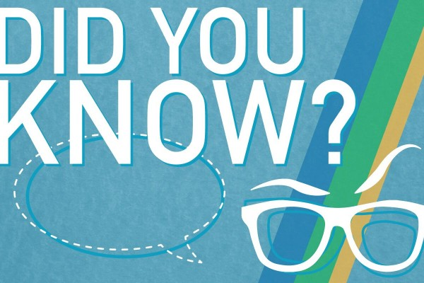 Graphic: Did you know blog themed banner. Graphic created by The Signal Managing Editor Dave Silverio.
