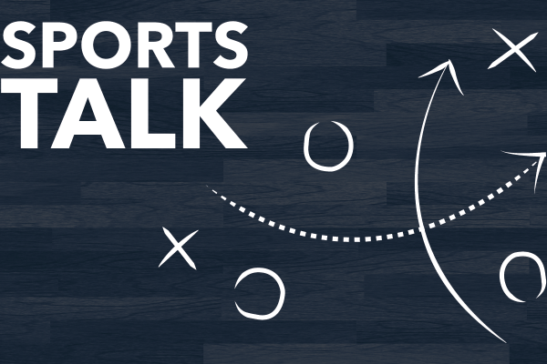 GRAPHIC: Sports Talk blog banner. Graphic created by The Signal Managing Editor Sam Savell.