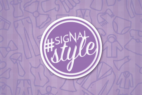 Signal Syle fashion video blog banner. Graphic created by The Signal Online Editor Sam Savell.