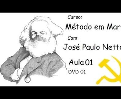 Curso Método em Marx com José Paulo Netto