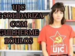 UJC se solidariza com Guilherme Boulos e MTST