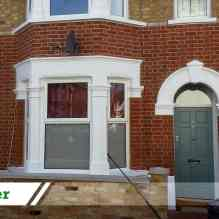 Paint removal job for residential customer in Norbury completed by UK Performance Restoration, London UK.