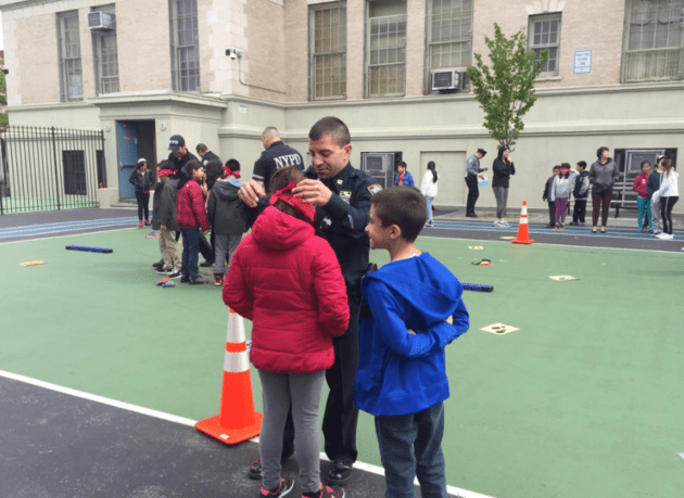 Why New York Cops Spent Their Workday Playing With Kids