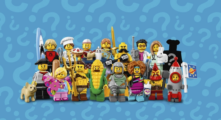 Lego Minifigures Series 17 (71018)
