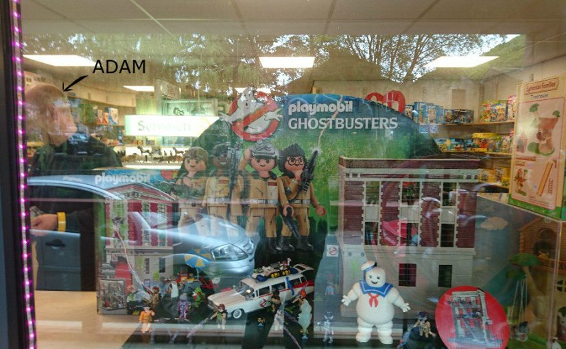 Ghostbusters Firehouse Playmobil 9219