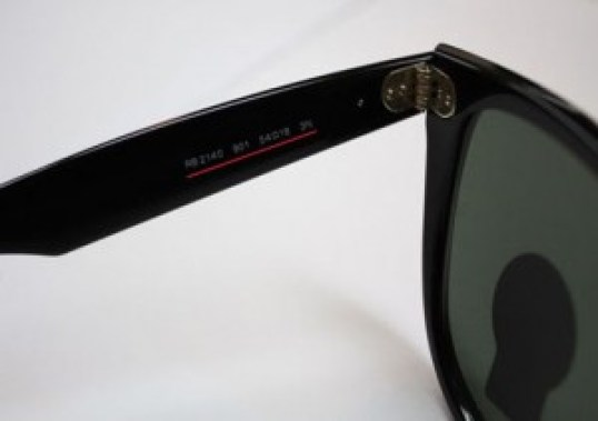 how to spot fake ray bans