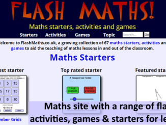 flashmaths info