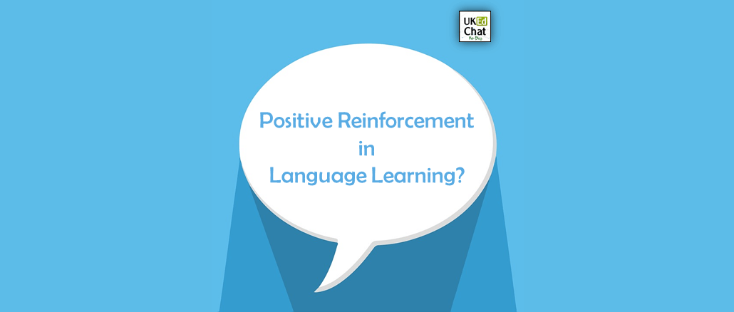 Positive Reinforcement in Language Learning by @ashowski