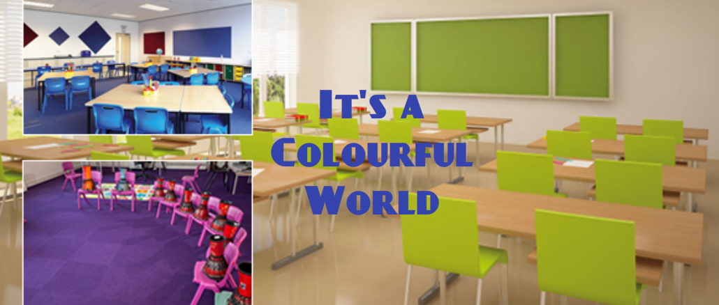 It's a colourful world by @Edu_Quip
