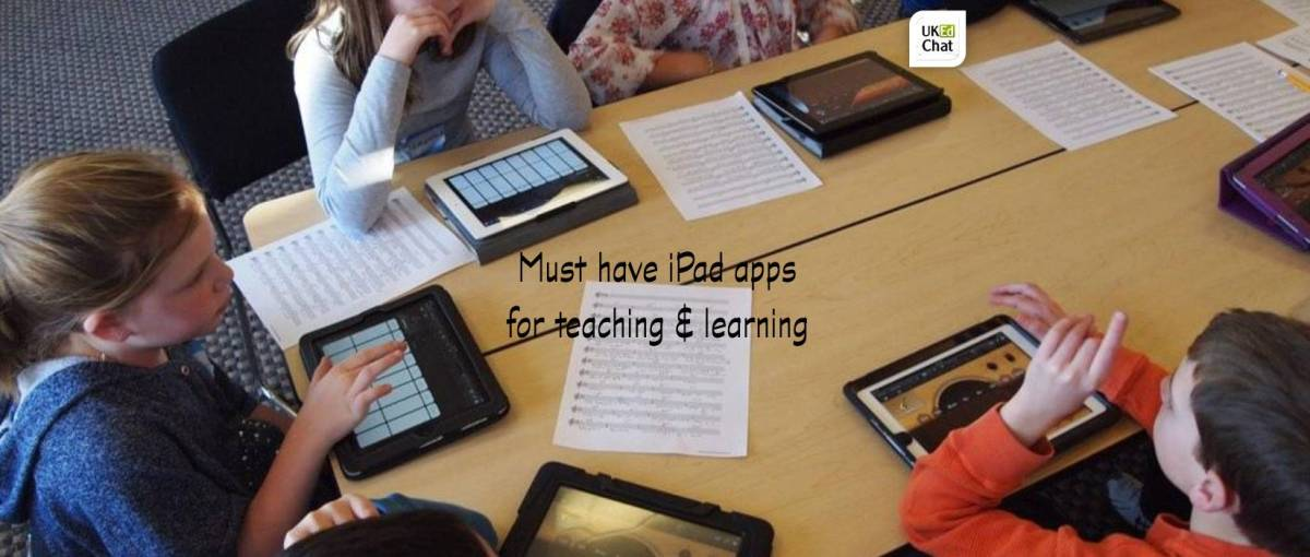Must have iPad apps for teaching and learning by @jecomputing