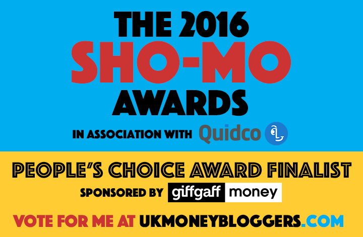 SHO-MO Blog Awards UK 2016