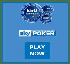 Sky Poker Promo