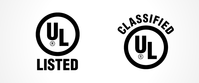 UL Listing and Classification Marks