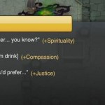 Ultima Forever Conversation System and Moral Quandaries