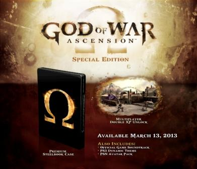 Edición Coleccionista God of War Ascension