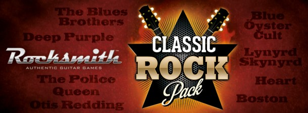 Rocksmith Classic Rock Pack