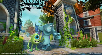 Disney Infinity_pantalla Monsters University