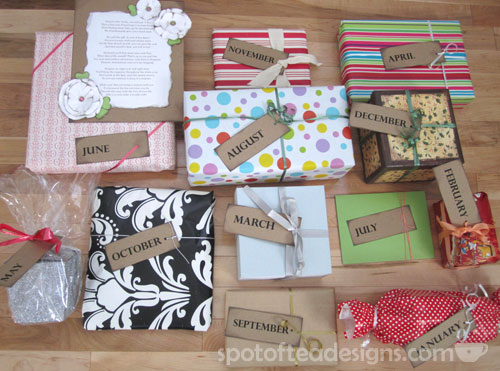 A year of date nights ultimate bridesmaid for Bride gifts from bridesmaid