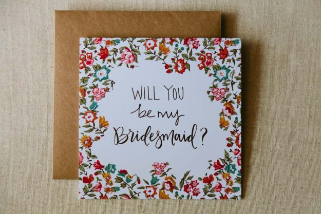 will you be my bridesmaid alllie ruth