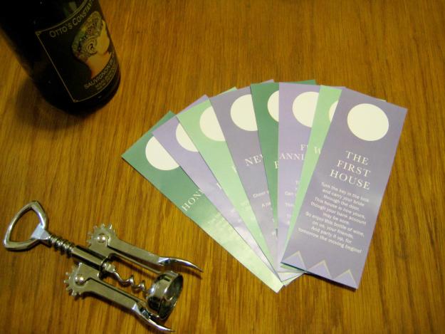 Wine Basket Bridal Shower Gift + Printable Poem Gift Tags   Ultimate ...