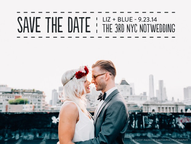 Engaged in New York? Win 2 tickets to the 3rd NYC NotWedding!