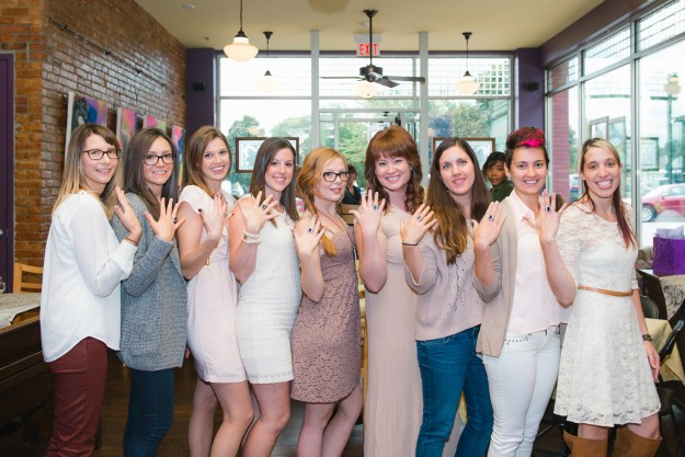 A Historic Downtown Coffeeshop Bridal Shower | Ultimate Bridesmaid | Nicole DeJoseph Photography